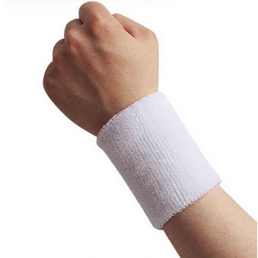Профессиональный спортивный браслет для бега пота фитнес-браслет Теннисный бадминтон баскетбольный ремень schweissband поддержка запястья