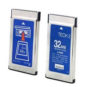 Image 4 - الجودة أ للتكنولوجيا G M 2 لساب Tech2 مع 6 برامج بطاقة 32MB لأوبل/ايسوزو/هولدن/سوزوكي بطاقة الذاكرة سيارة أداة التشخيص