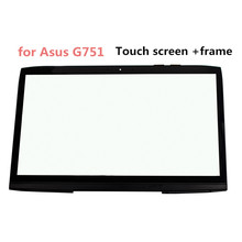STARDE Replacement For Asus G751 17.3 Touch Screen Black Laptop Digitizer Panel With Frame 1920*1080 Resolution