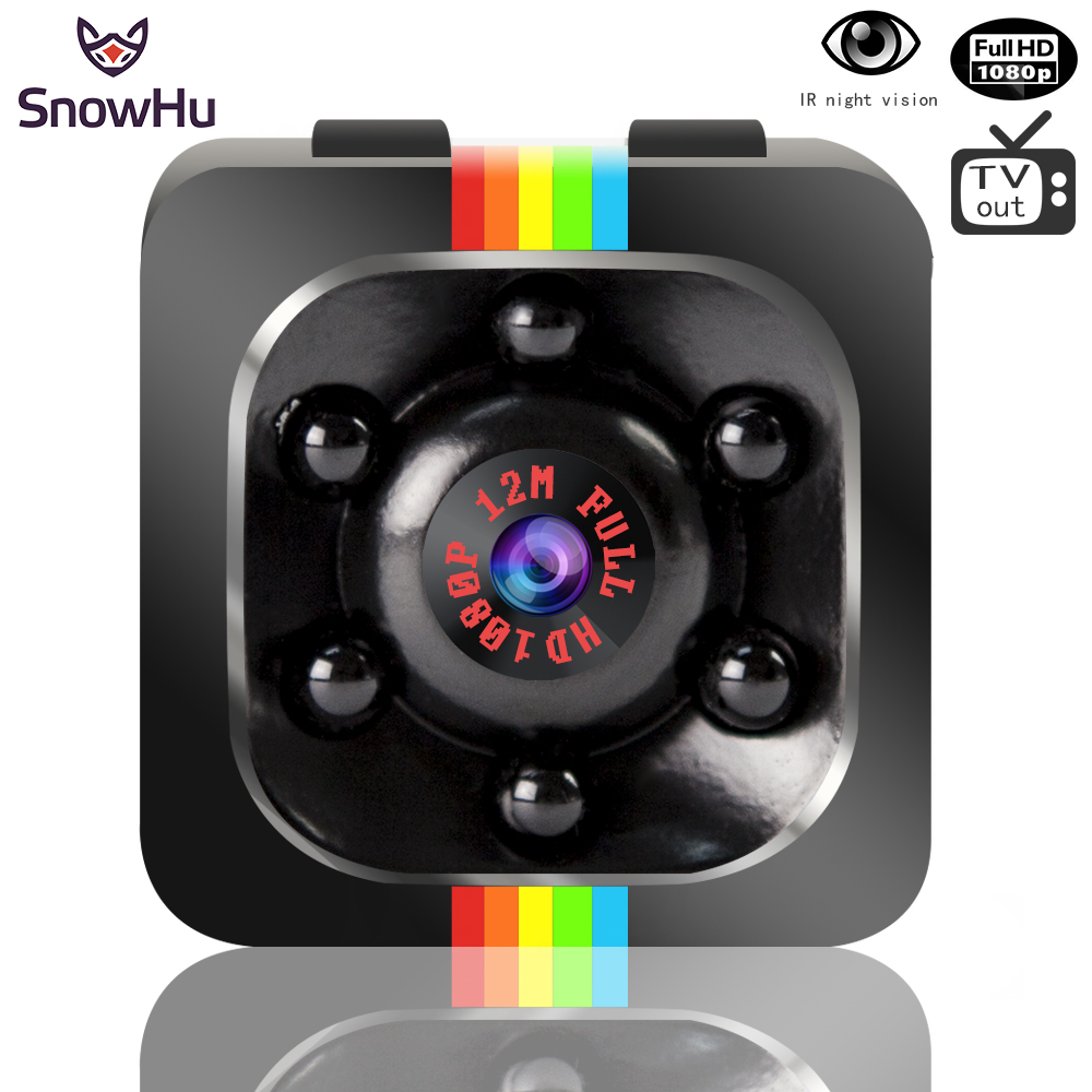 SnowHu Newest Mini camera HD P Camera Night Vision Mini Camcorder Action