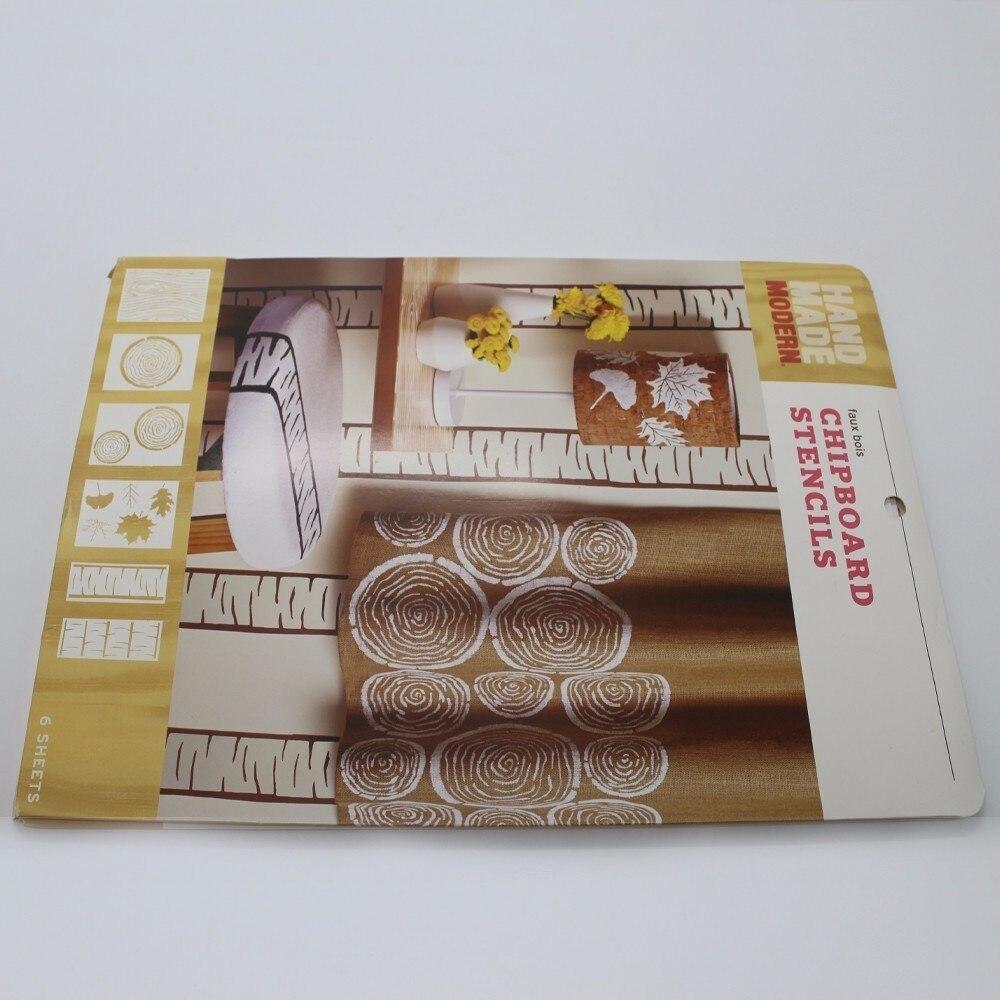 1ks Nástěnná malba Šablona Nástroj stromu Víceúčelové - Školní a vzdělávací materiály - Fotografie 5
