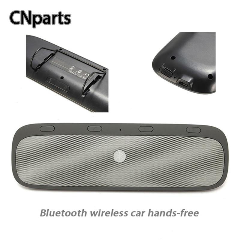 CNparts universel voiture sans fil Bluetooth Kit mains libres haut-parleur téléphone pour Ford Focus 2 VW Passat B7 B8 Toyota Avensis accessoires
