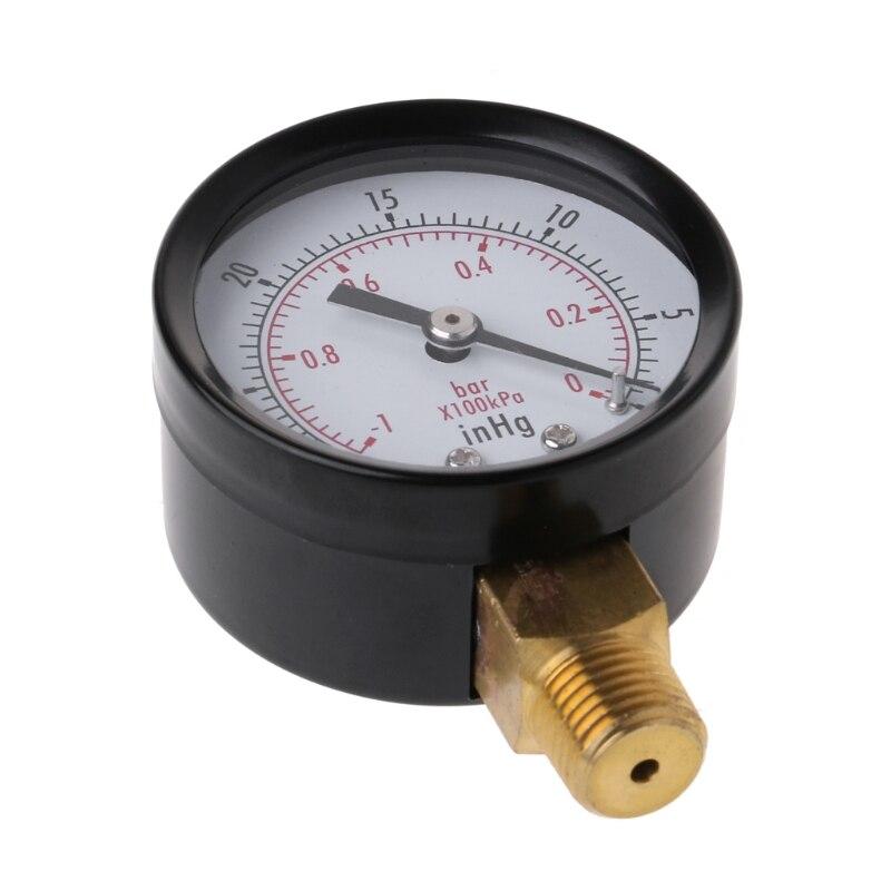 Medidor de Pressão de vácuo Mini Dial