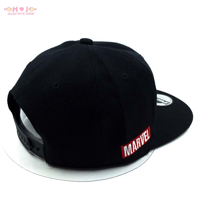 ed4bf63426c9b Marvel hero trucker hat Captain America Shield A Star baseball cap flat  alumni custom snapback embroidery bones-in Baseball Caps from Apparel  Accessories on ...