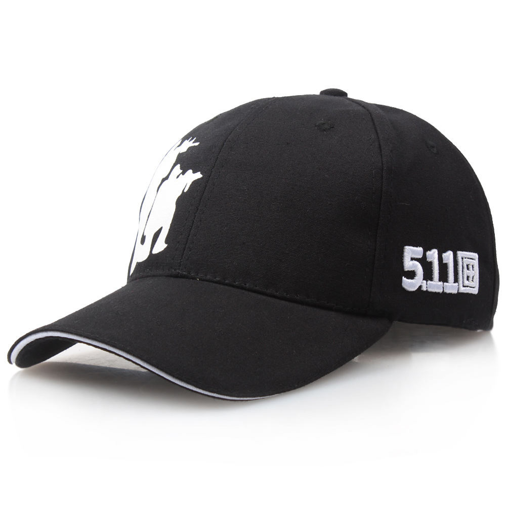 New Military fan black   Baseball     Cap   511 Tactical   Caps   Outdoor Sport Training Snapback Hat Jungle black Hunting Hats For Men