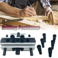 50mm Round Wood Dowel Drilling Positioner Woodworking Tool Doweling Holes Vertical Clamping Tool Drill Sleeve l Clamping Tool