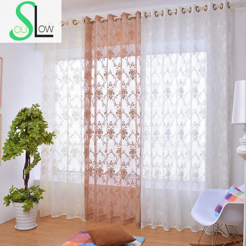 Slow soul white beige coffee luxury european style - Beige and white bedroom curtains ...