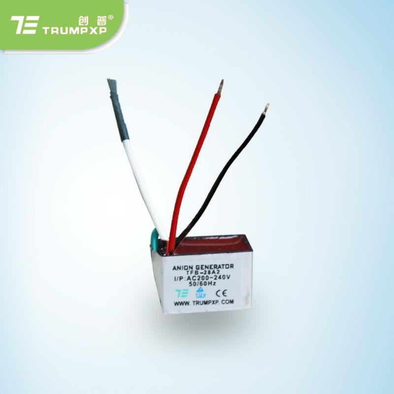 150 шт./лот AC220V комплект продажи Анион Генератор части светодиодный, фен, очиститель воздуха части TRUMPXP TFB-Y28A2