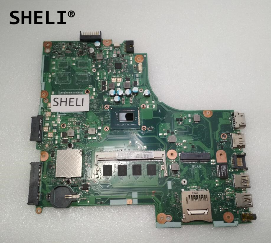 SHELI For Asus X450CC X450CA Motherboard with 2117U cpu 4GB memorySHELI For Asus X450CC X450CA Motherboard with 2117U cpu 4GB memory