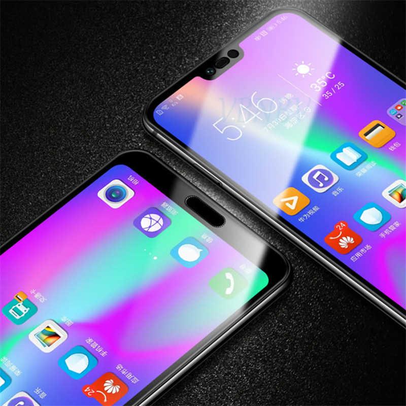 3D Penuh Cover Tempered Glass untuk Huawei Honor 10 9 8 Lite Pelindung Layar Pelindung untuk Huawei P20 Pro P10 lite Nova 4 3 3i