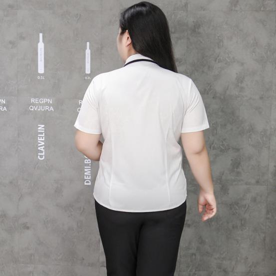 Surdimensionné Mousseline De Blusas D'été Soie Chemise M605 Chemises Blanche À 2018 Mujer Manches Ol Coton Moda Courtes Blouse En Femmes wB1qBYCgx