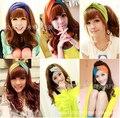 2015 korean boutique fashion women adult girls lady soft twist knotted headbands head wraps hair bands turban accessories tiara