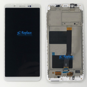 Image 2 - 100% Tested White/Black 5.7 inch High Quality For BBK Vivo V7 LCD Display + Touch Screen Digitizer Assembly With Frame