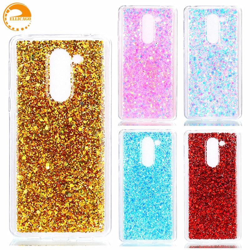 migliori scarpe da ginnastica cd3ef 8cbae US $4.11 |Bling Glitter Case Huawei Honor 6X Cover Soft Silicone Case For  Huawei Honor 6X Case Phone Cases Honor 6X Fundas-in Fitted Cases from ...
