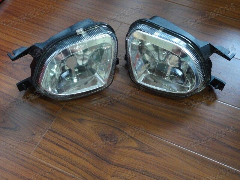 2шт прозрачный вождения противотуманные фары лампы левый правый для Мерседес-Бенц W211 Мерседес Е-класс 2003-2006