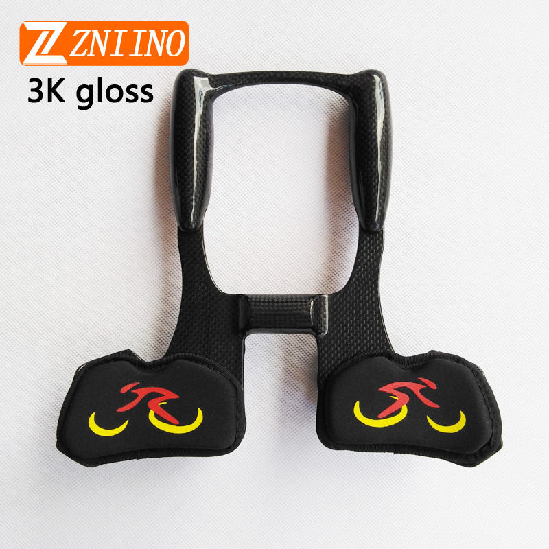 25 * 22.5 * 6cm ZNIINO Bicycle Handlebar Bike Racing Aero Bar Carbon Fiber Bicycle Aerobar Road Triathlon Arm Rest Handlebars недорого