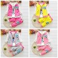 2016 New Autumn Baby Girls Suits Infant/Newborn Clothes Sets Kids Vest+T Shirt+Pants 3 Pcs Sets Children Suits free shipping