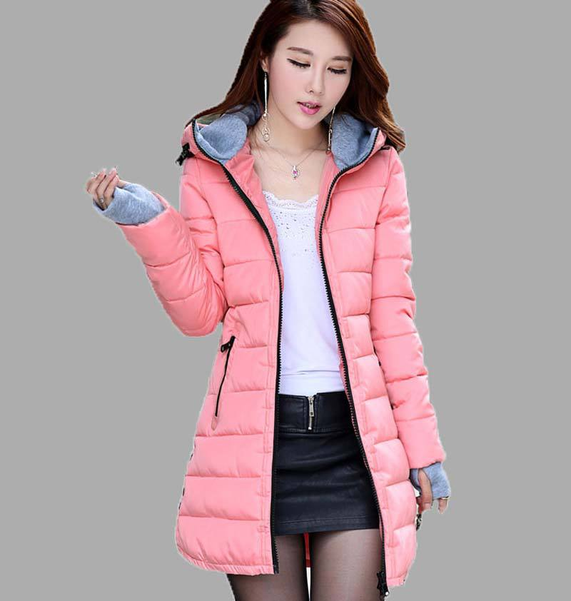 New 2015 Winter Coats Women Jackets plus size hooded Thick patchwork warm Cotton Padded long Ladies cotton & Parkas BL1052 грунтоочиститель sera precision gravel cleaner для аквариумов