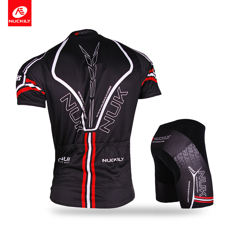 a802f4adb NUCKILY Mens Polyester Cycling Suit Summer Bike Clothing KingKong Design  Bicycle Jersey And Shorts Set AJ207BK277-in Cycling Sets from Sports ...