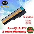 Novo 6 cels bateria do portátil para lenovo g430 g450 g455a g530 g550 l08s6c02 lo806d01 l08l6c02 l08l6y02 l08n6y02 frete grátis