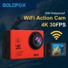 4k 16MP Camera 4 K WIFI 2 Inch LCD Screen 1080P Waterproof GO Cam deportiva pro Underwater Action Camera