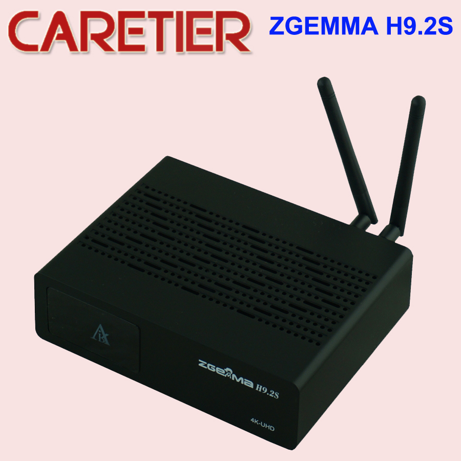 2pcs Official Version 4K UHD Set Top Box ZGEMMA H9 2S Linux OS DVB S2X S2X