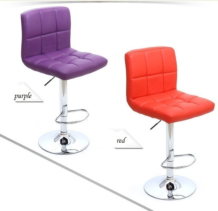 purple color living room chair change shoes stool furniture chair stool design customization free shipping
