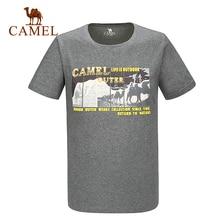 2016 Camel Outdoor Men's T-shirts Cotton Short Sleeve Summer T-shirts Male Tops T-shirt A6S2T7101