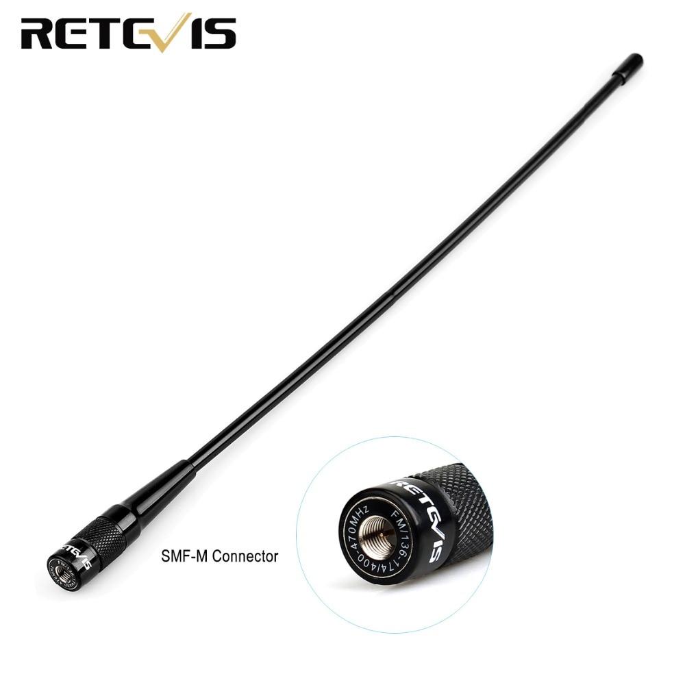 RH519 Antenna SMA Male Dual Band VHF UHF 144//430Mhz For Baofeng UV3R LT6100 US