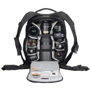 Image 5 - Orijinal Lowepro Flipside serisi 300AW 400AW 400 II AW 500AW dijital SLR fotoğraf makinesi fotoğraf çantası sırt çantaları + tüm hava kapak nikon için