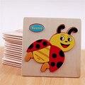 3D rompecabezas de madera juguetes de madera para niños de dibujos animados de animales puzzle de inteligencia de juguetes educativos para niños