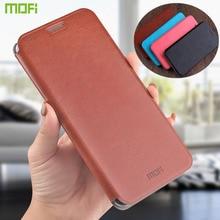 Mofi Case For Xiaomi Redmi Note 5 Pro / Redmi Note 5 Case Book Flip Style Mobile Phone Cases For Redmi Note 5 Stand Cover