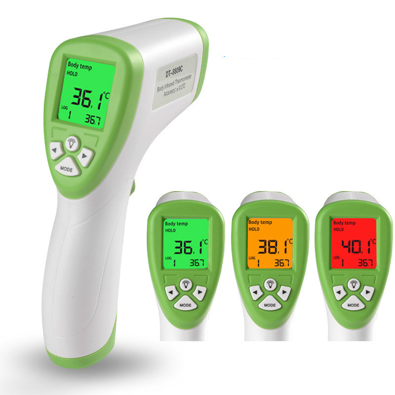 Digital Thermometer Infrared Baby Adult Forehead Non-contact Infrared Thermometer With LCD Backlight Bestselling drop shipping ...