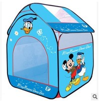Ultralarge Children Beach Tent Baby Toy Play Game HouseMickey Mouse And Donald Duck Children Tent Indoor