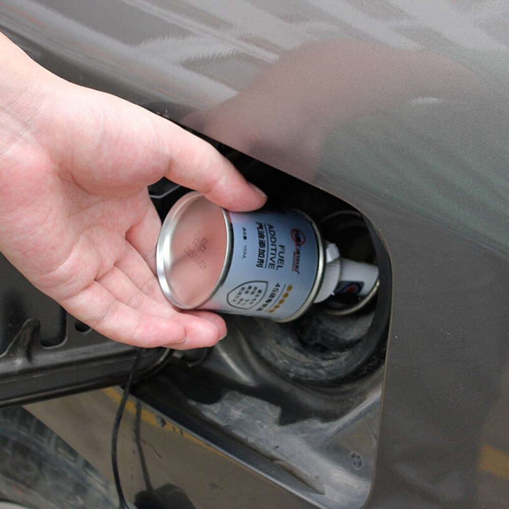 100ml Portable Car Fuel Additive Carbon Cleaning Agent Automobile Injector Cleaner  Maintenance Accessories