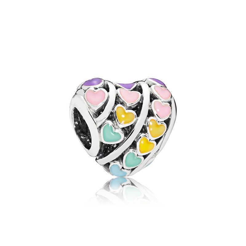 جديد وصول الفاخرة مفتاح أحذية الفيل قذيفة فراشة القمر الضفدع القلب الخرز صالح باندورا Charms للنساء اليدوية مجوهرات