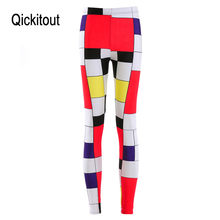 0b28026382fec5 HOT Sexy Fashion Slim Pirate Leggins Pants Digital Printing MONDRIAN  LEGGINGS - LIMITED For Women
