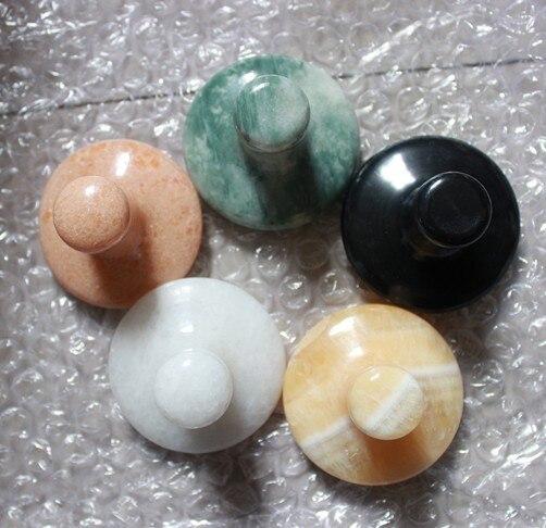 crna bijela zelena žuta narančasta 5 boja vruće spa masaža kamena - Zdravstvena zaštita - Foto 1