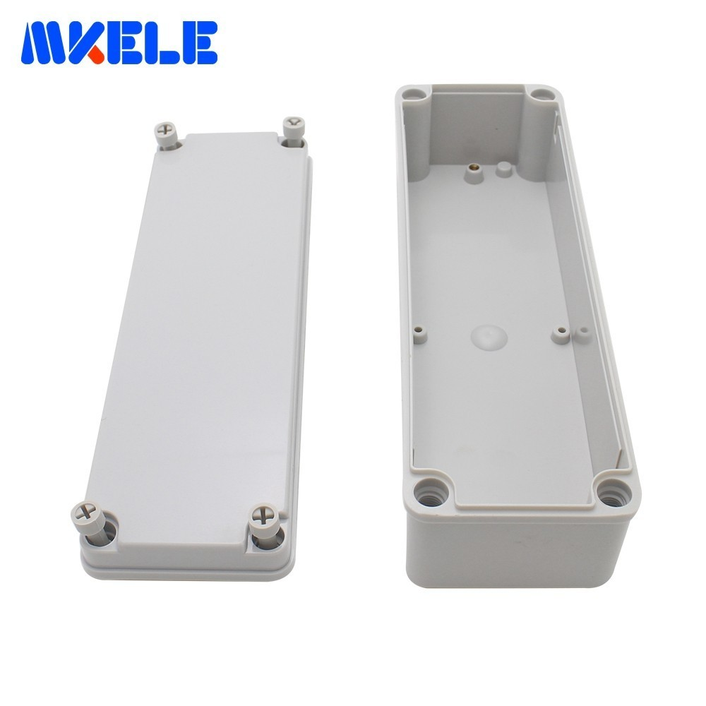 Electronic Plastic Boxes Waterproof DIY Box Contentors Per Elettronica ABS Outdoor Electrical Box Cover Junction Box