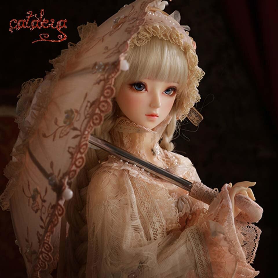 Cataleya BJD 26cm lngth 1 3 Doll Retro Aristocratic Special Women s Umbrella Accessories Decoration