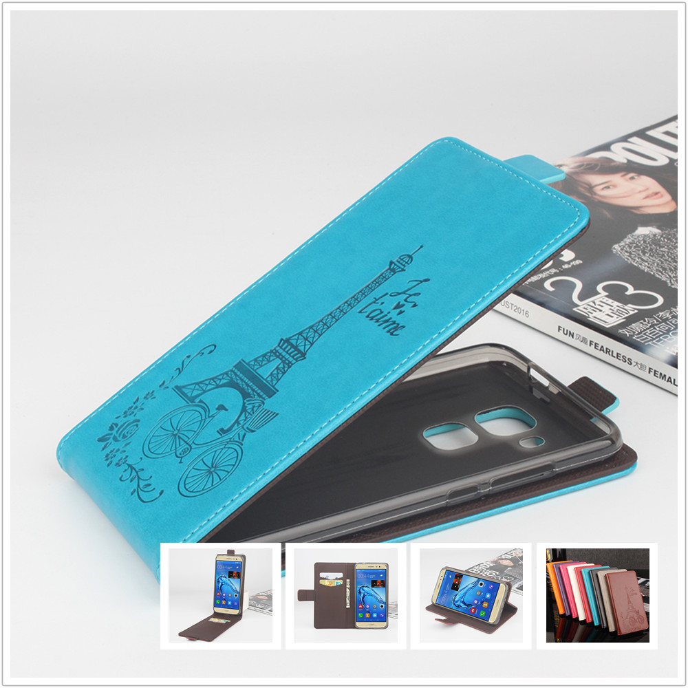 Tower Wallet Leather For Huawei Maimang 5 / Maimang5 / MLA AL10 Milan 5.5 Mobile Phone Flip Cover Case Cellphone Shell Housing