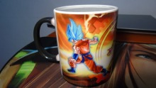 dbz dragon ball z mugs Son goku vegeta mugs Frieza coffee mug morph travel mug heat changing color porcelain printing Tea Cups