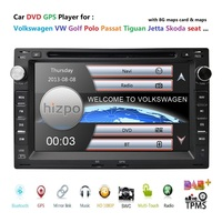 7 RDS BT GPS Bluetooth Car DVD Player for VW Golf 4 T4 LUPO POLO Passat B5 Sharan with Radio SD map card USB Free back Camera