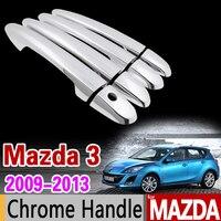 Mazda 3 MK2 Zvw40 2012 2017 Chrome Handle Cover Trim Set Prius 40 Grand Prius Wagon