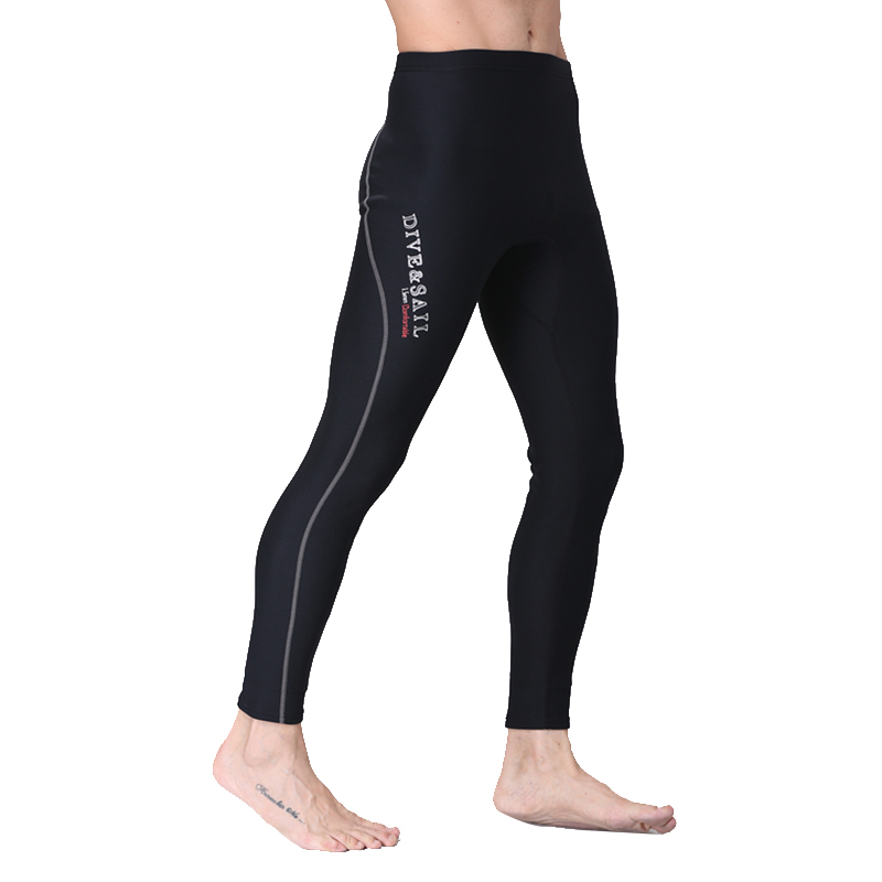 1.5MM Professional Skin Swim Trunks Neoprene Diving Pants Fall Winter Long Swimming Surfing Pants quick-dry Snorkeling Pant