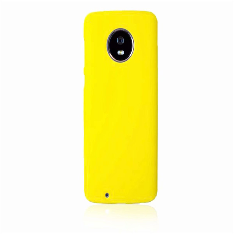 Phone Case sFor Fundas Motorola Moto G6 case For Coque Motorola Moto G6 Candy Color Hard plastic PC cover phone cases in Half wrapped Cases from Cellphones Telecommunications