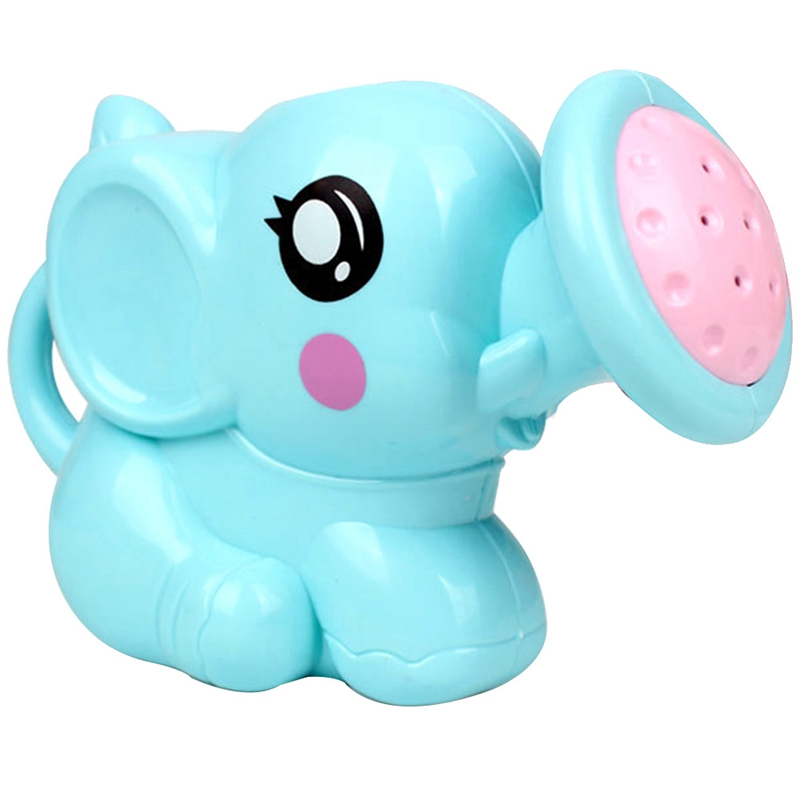 Newborn Plastic Elephant Watering Pot Bath Toys Cute Baby Cartoon Baby Bath Shower Tool Water Toys For Kids Children baby toys
