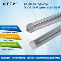 WEGA T8 Lamp Tube Energy Saving Lamp Support Lamp 90cm 15W 30W 110lm Indoor White Energy