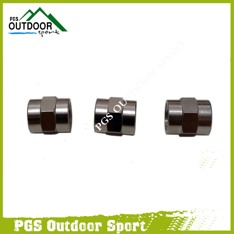"Image 3 - PCP Air Gun Paintball Air Fitting 3pcs Hose Pipe Hex Nipple Fitting Double 1/8"" NPT Male/Female Threads-in Paintball Accessories from Sports & Entertainment"
