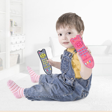 Buy Baby Toys Music Mobile Phone TV Remote Control Early Educational Toys 3 languages Electric Numbers Remote Learning Machine Gifts directly from merchant!